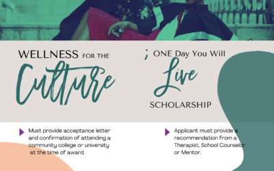 ; ONE DAY YOU WILL LIVE SCHOLARSHIP